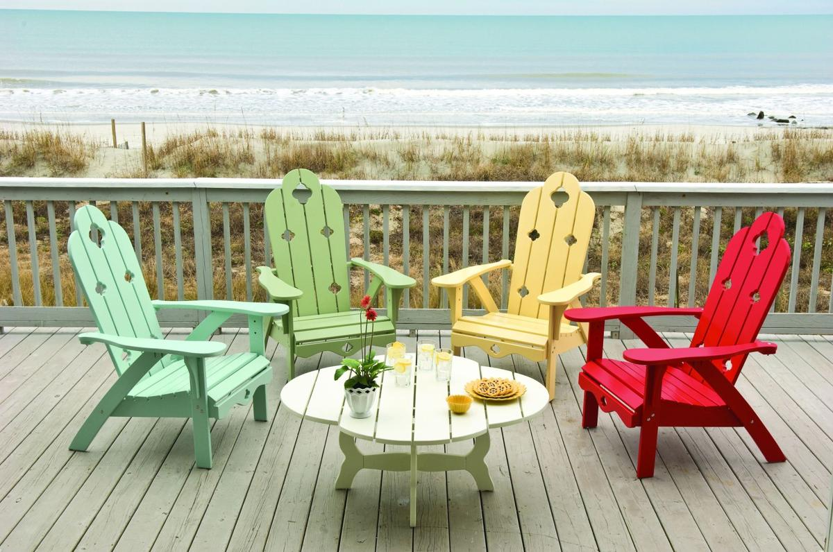 Adirondack Timeless outdoor chairs often reimagined for decor