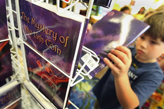 Second-graders collaborate with author on book
