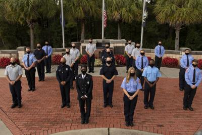 Fire academy graduation