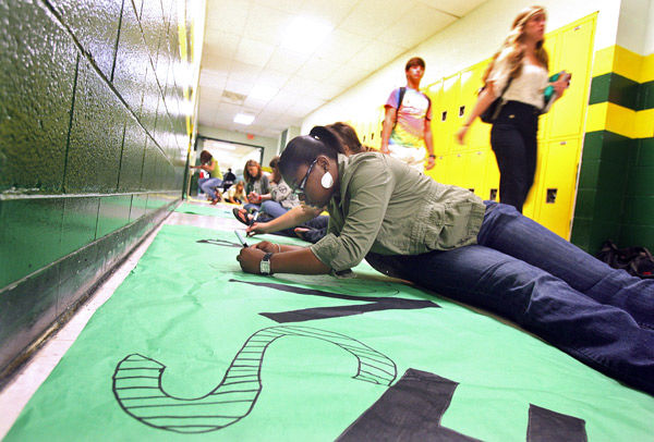 Green Wave of spirit to wash over stadium