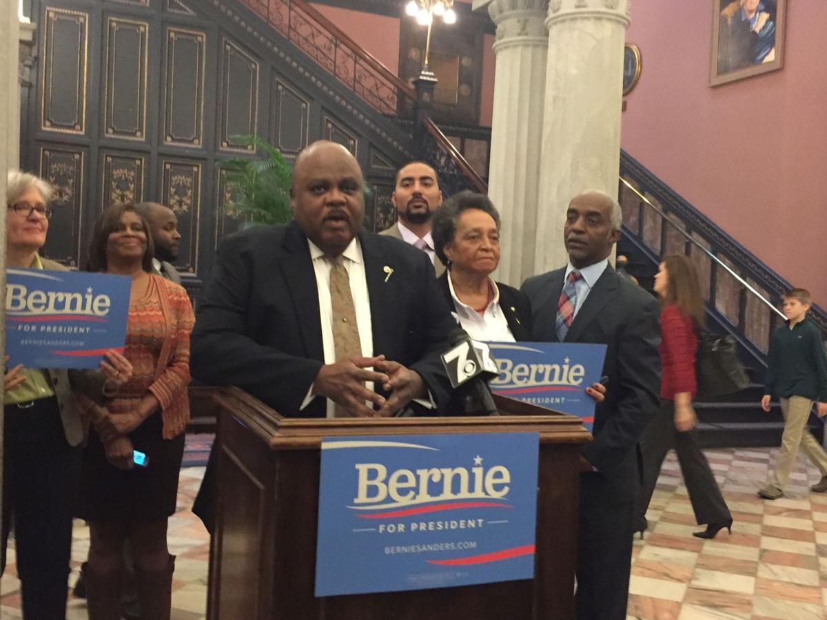 Hopkins representative endorses Bernie Sanders for president