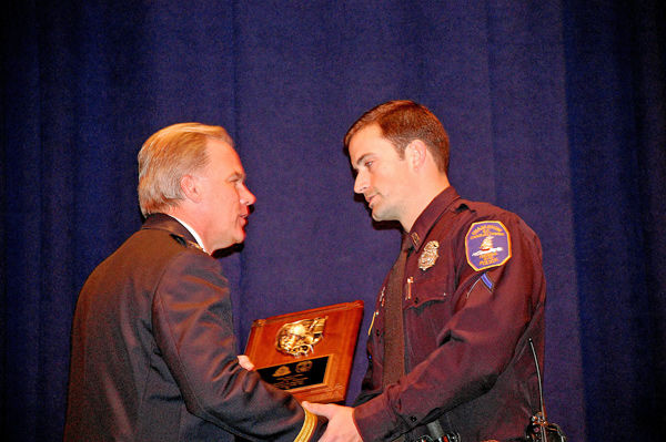 Russell Frierson named top officer