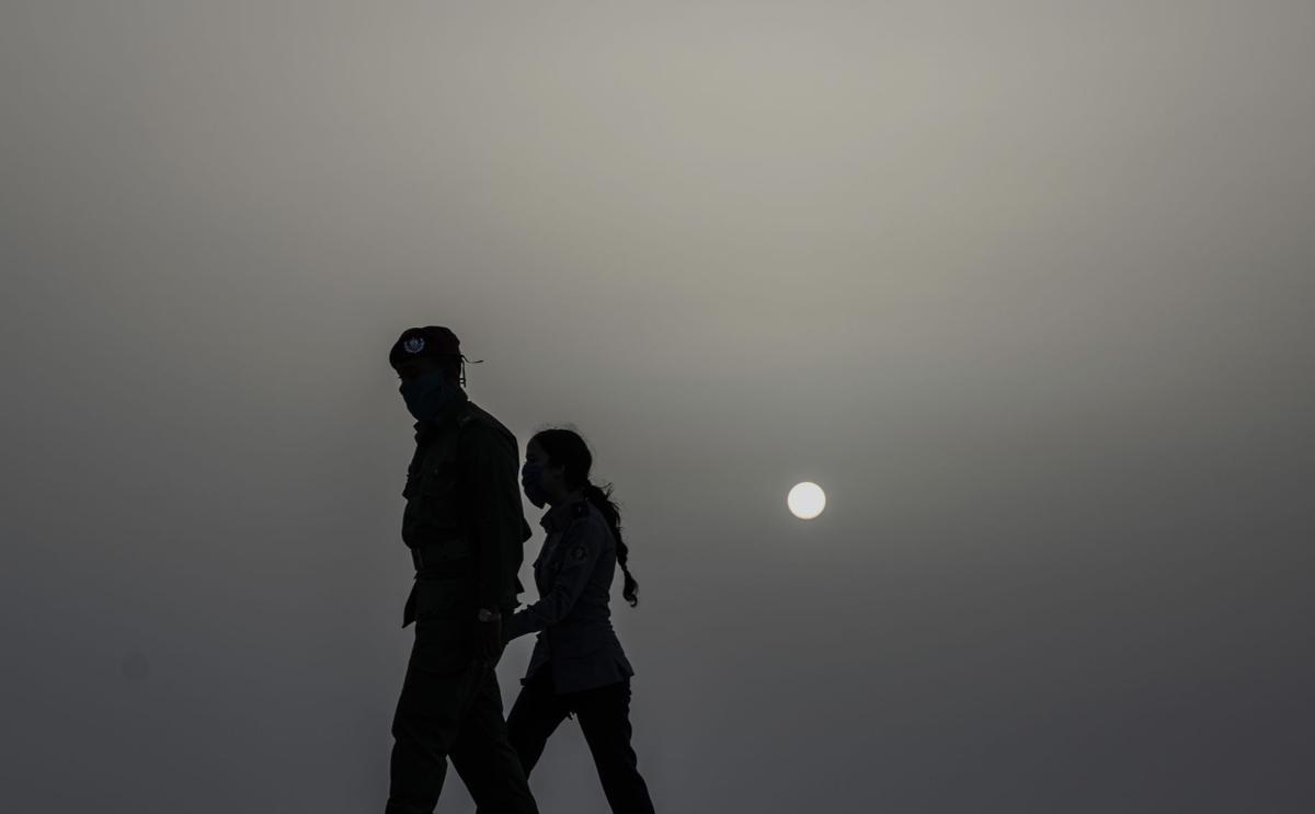 APTOPIX Cuba Sahara Dust