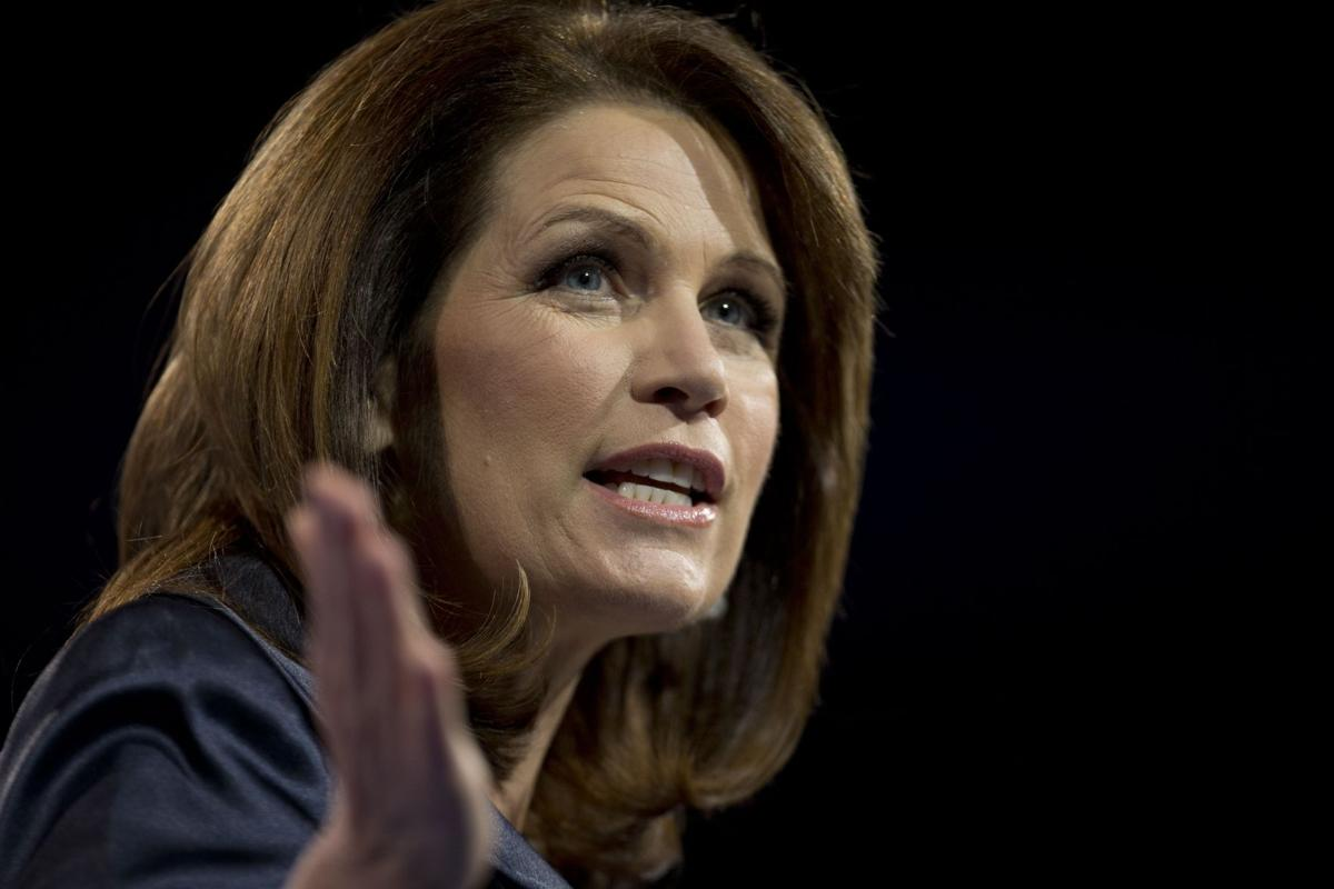 Tea party favorite U.S. Rep. Michele Bachmann says she won't run for re-election