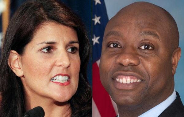 U.S. Rep. Tim Scott, Gov. Nikki Haley make 2012 watch list