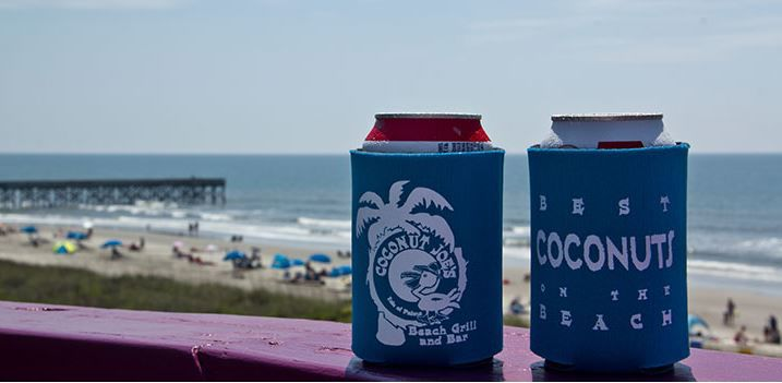 Coconut Joe's koozies