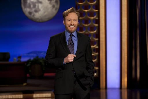 Review: Conan returns to late-night TV with ease