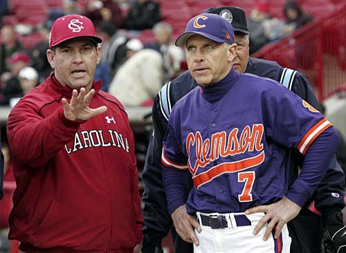 Growing Feud Clemson South Carolina Baseball Rivalry Heating Up A Year After
