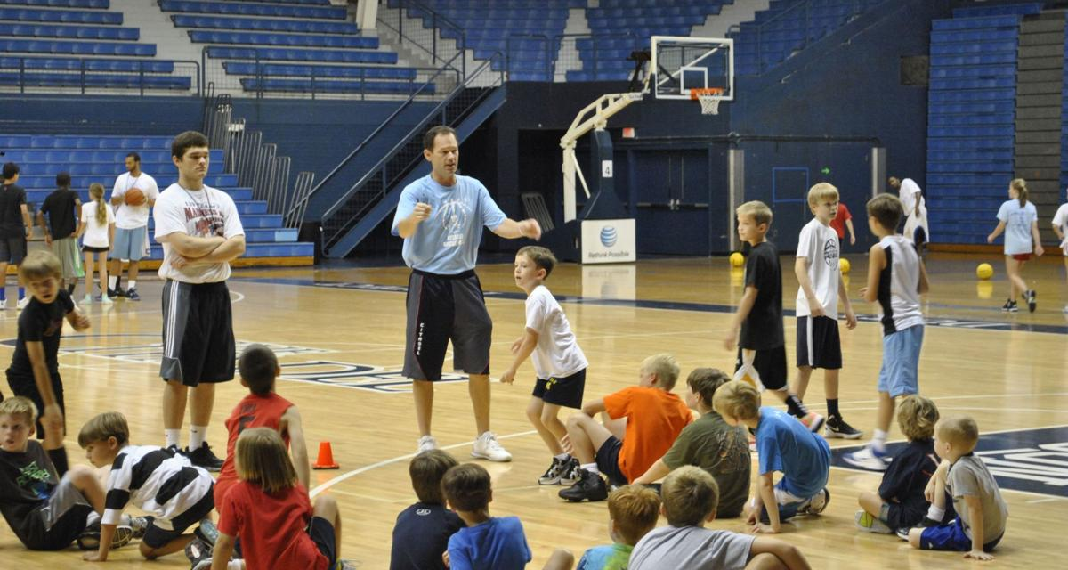 Youngsters hoop it up at basketball camp