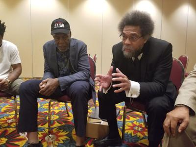 Cornel West and Danny Glover
