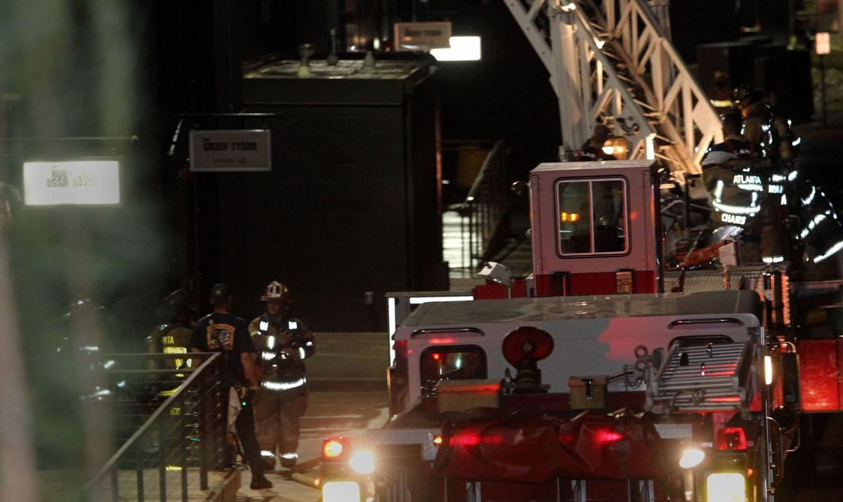 Structure OK after blaze at Tyler Perry's studios