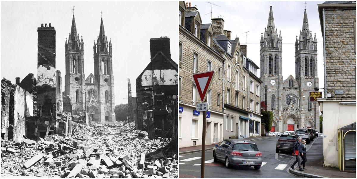 D Day Then And Now Photo Gallery