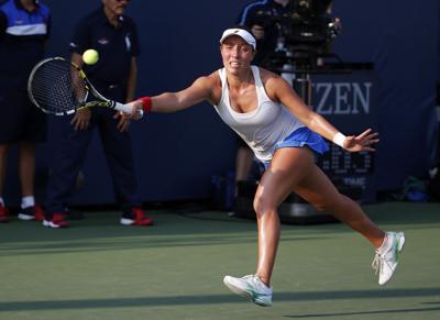 Pegula falls to Cibulkova at U.S. Open