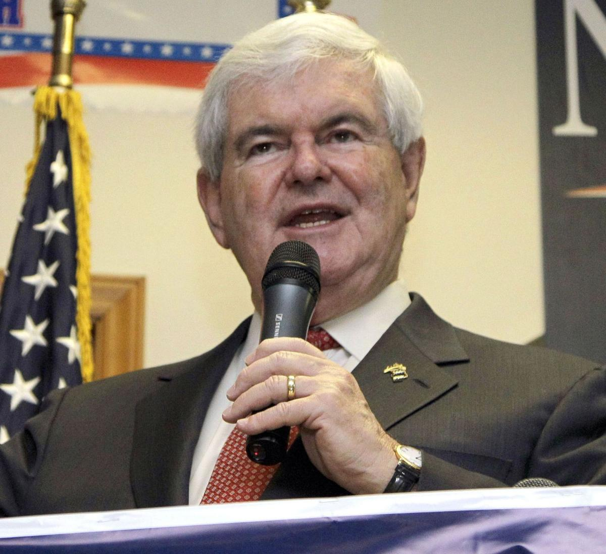 Polarizing, feisty Gingrich to bow out today