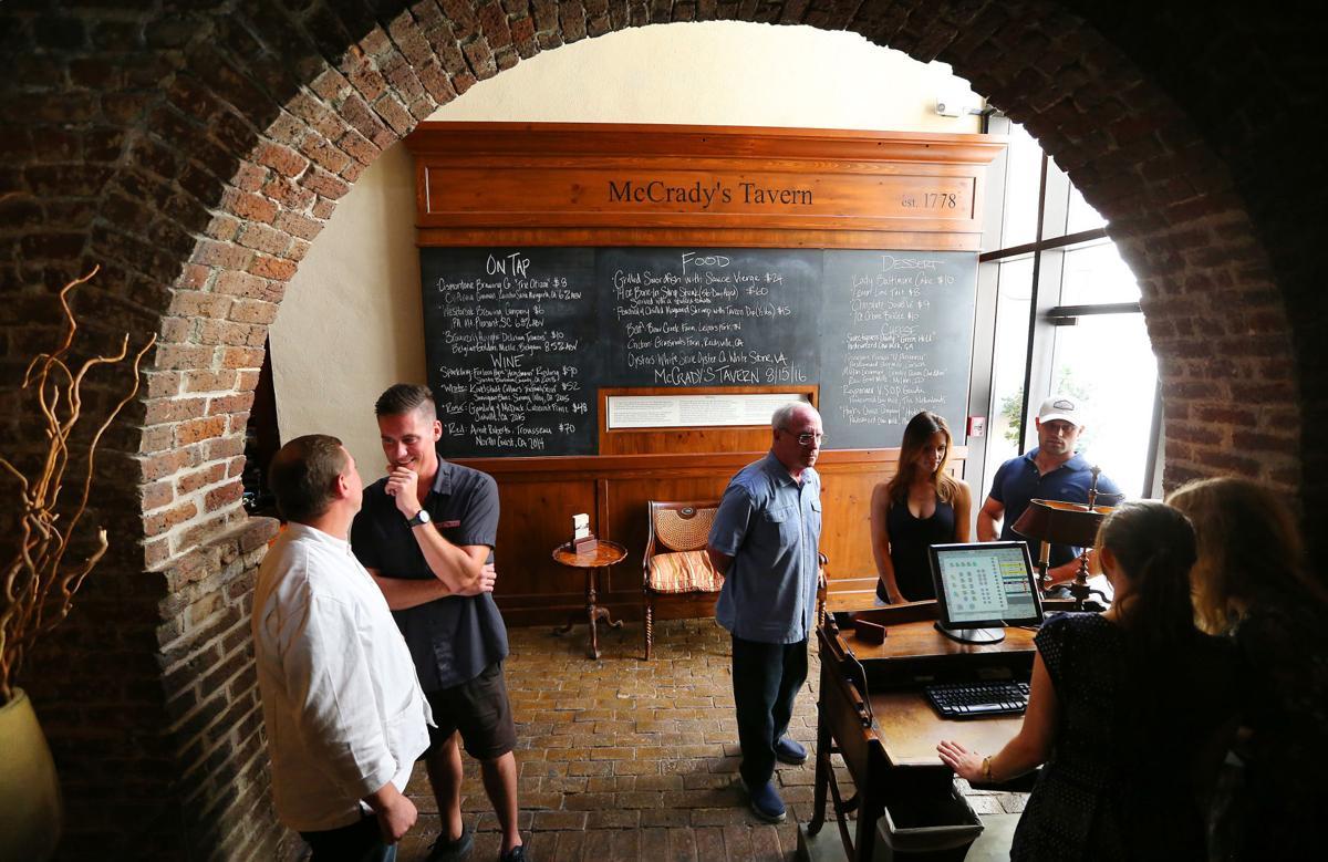 Destination McCrady's Tavern