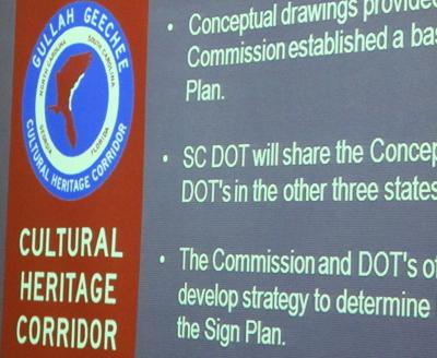 Signs to direct visitors in Gullah Corridor