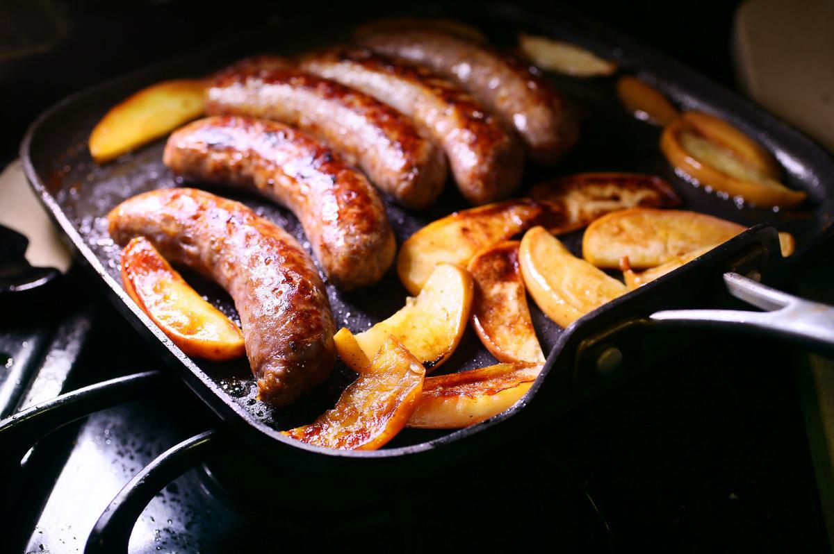 sausage apples breakfast for dinner.jpg
