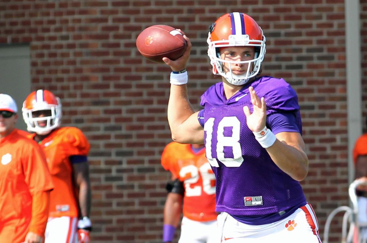Swinney displaces practice as Clemson settles into road-warrior mentality
