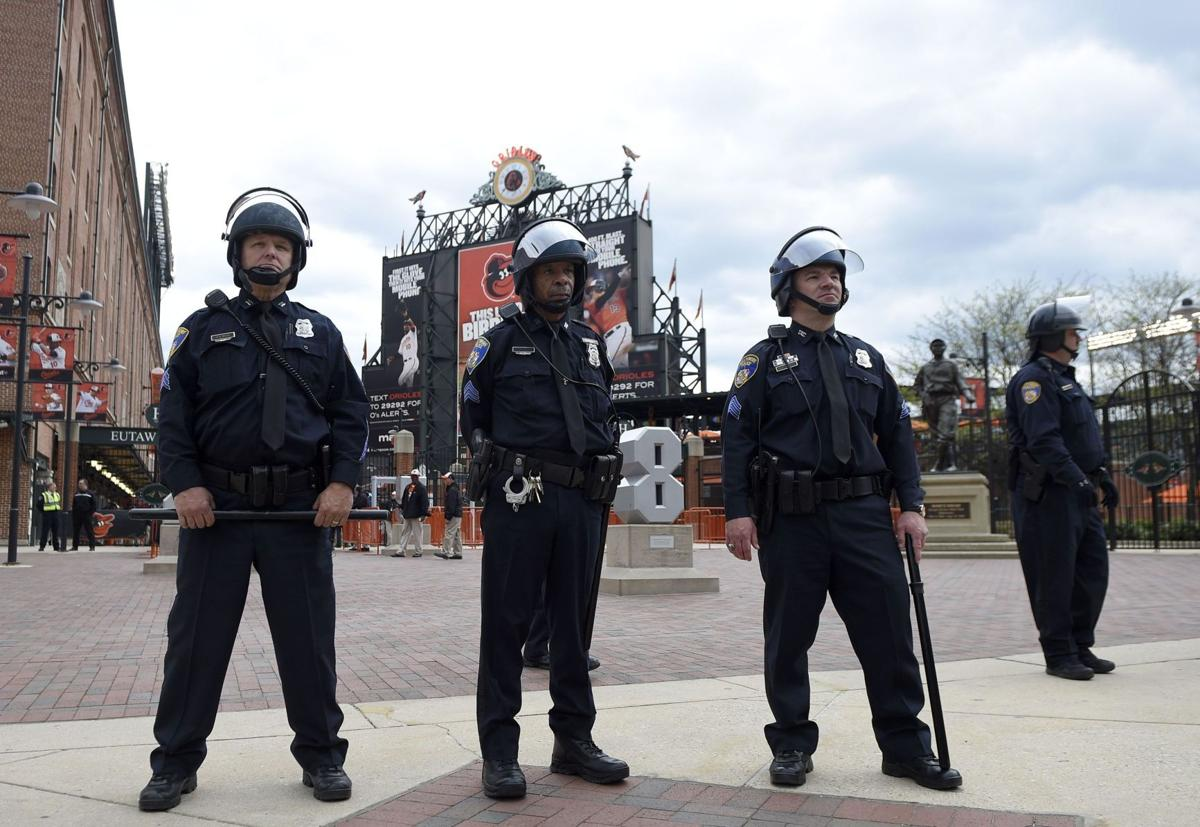 Orioles to play in a closed stadium