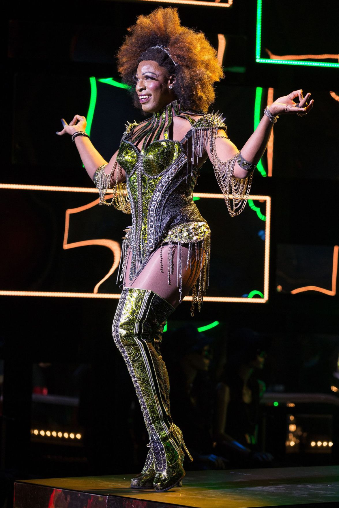 'Kinky Boots' star prepares for a high-kicking tour