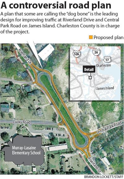 The 'dog bone' plan could ease James Island traffic, but at great cost to a family