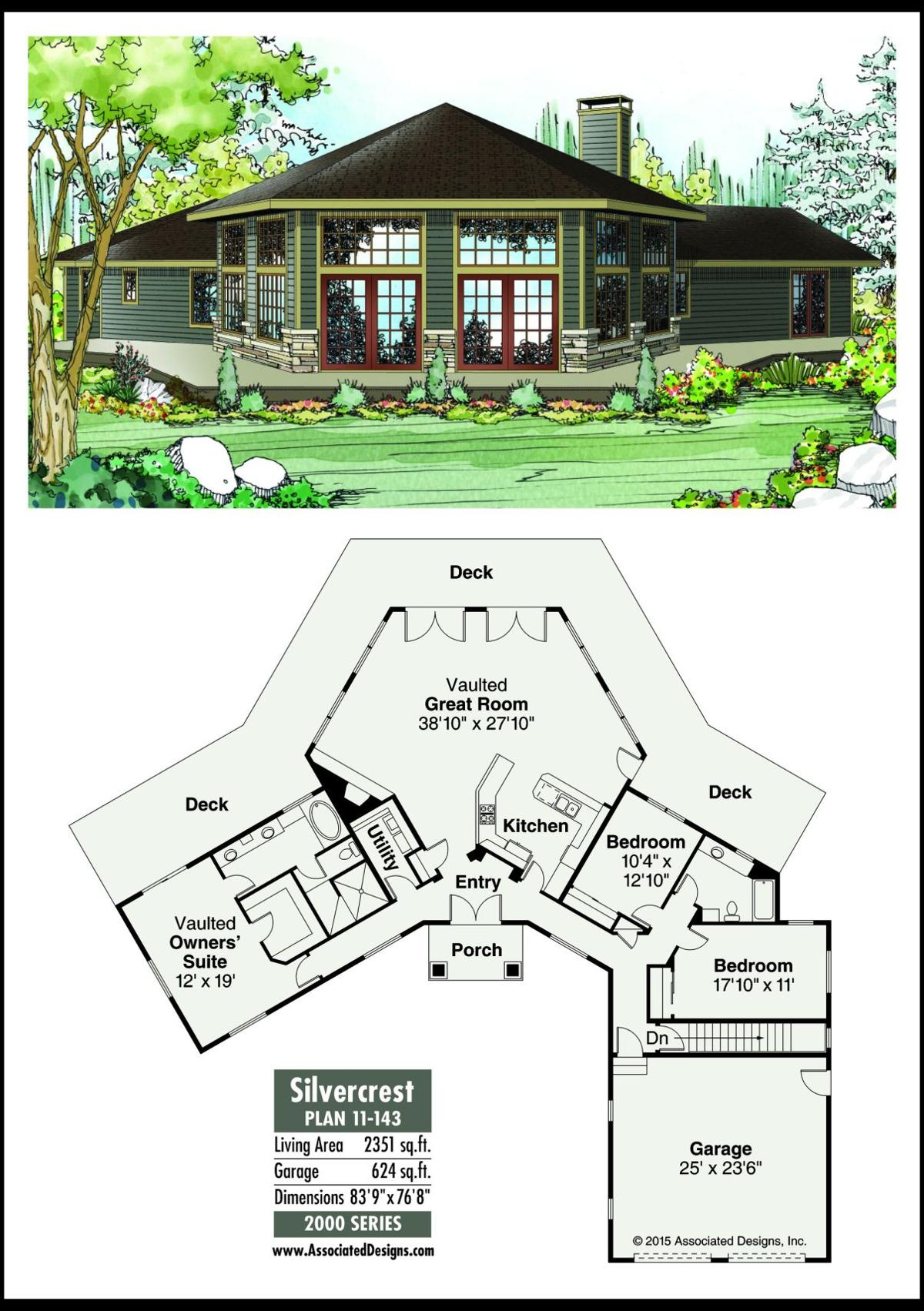 This week's house plan Silvercrest 11-143