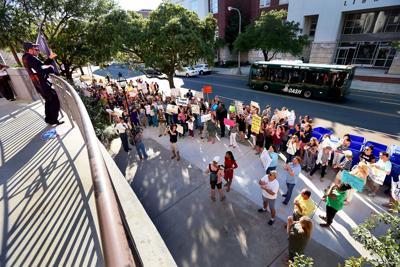 wide protest teacher eval principal transfer (copy)