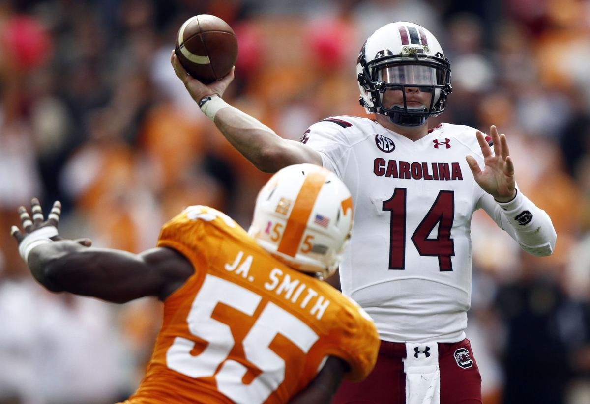 Gamecocks upended by Tennessee