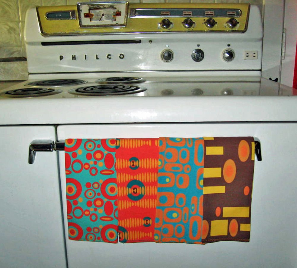 Make statement with custom fabric, wallpaper