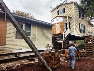 Rear house move