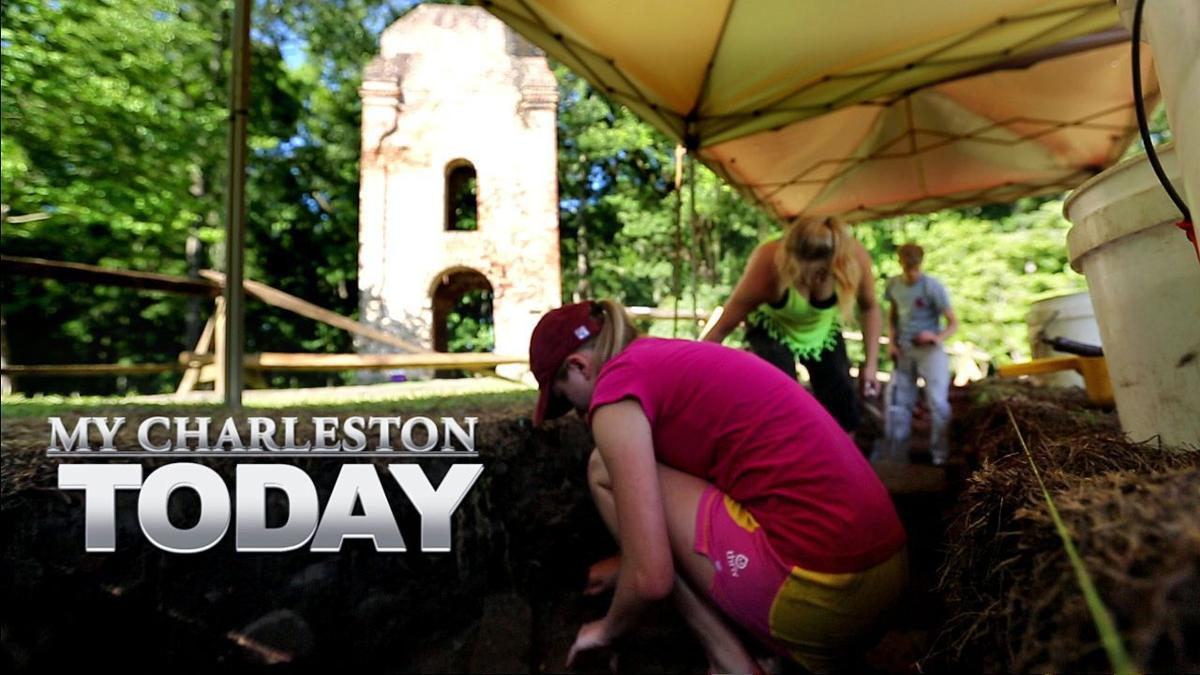 My Charleston Today - College of Charleston students digging history at Dorchester State Park