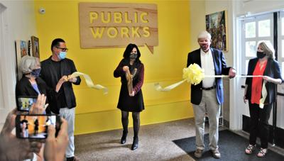 Summerville's Public Works Art Center celebrates with ribbon cutting