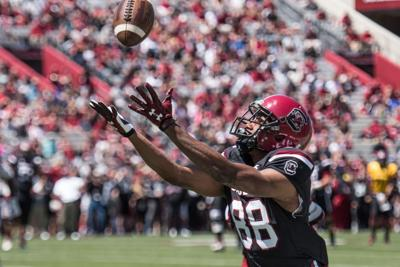Brandon McIlwain throws for two TDs, runs for another score in spring debut at USC