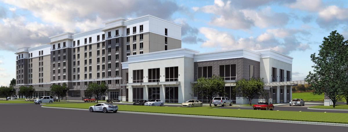 Nexton hotel rendering