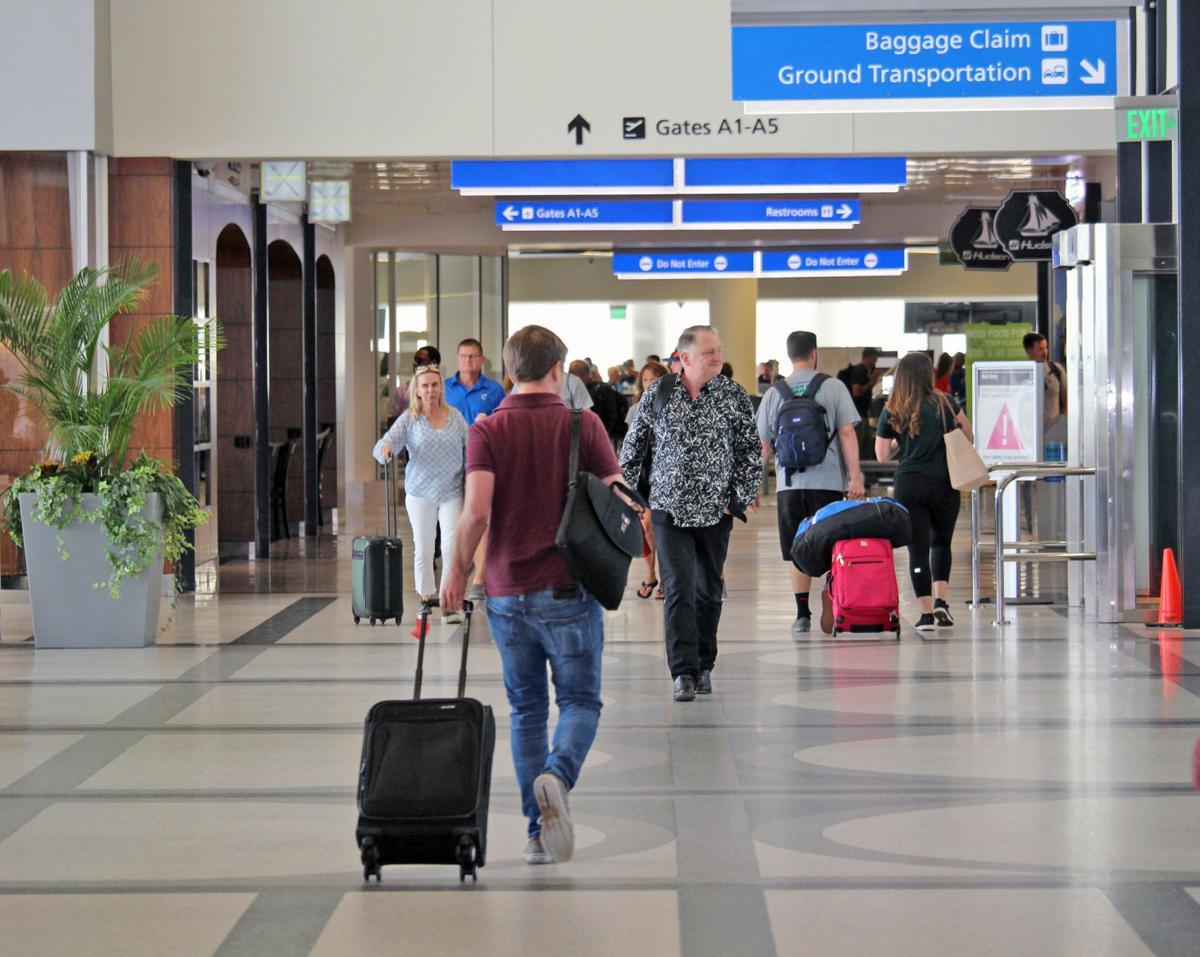 Charleston airport passengers
