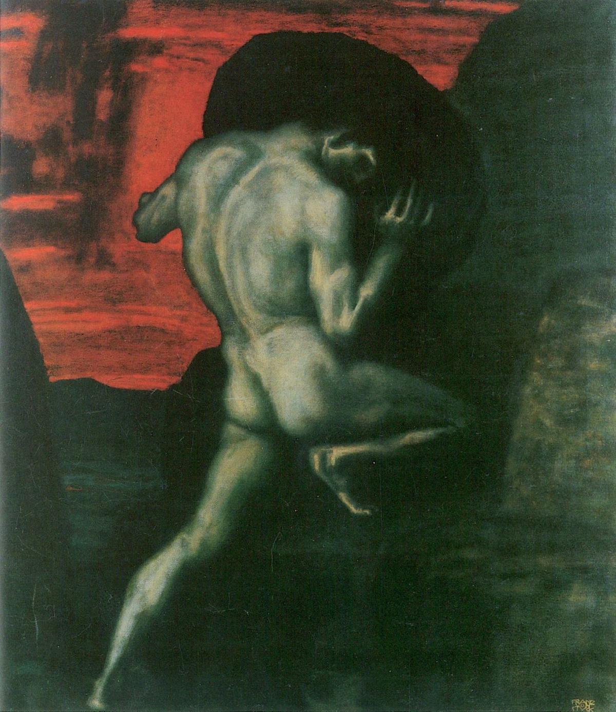 Sisyphus by Franz von Stuck