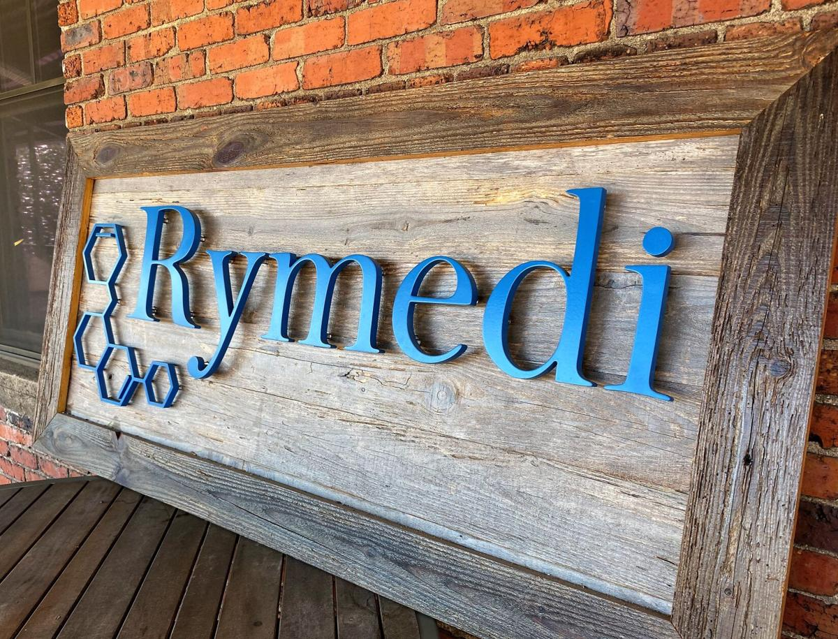 Headquarters of healthcare blockchain firm, Rymedi, in downtown Greenville
