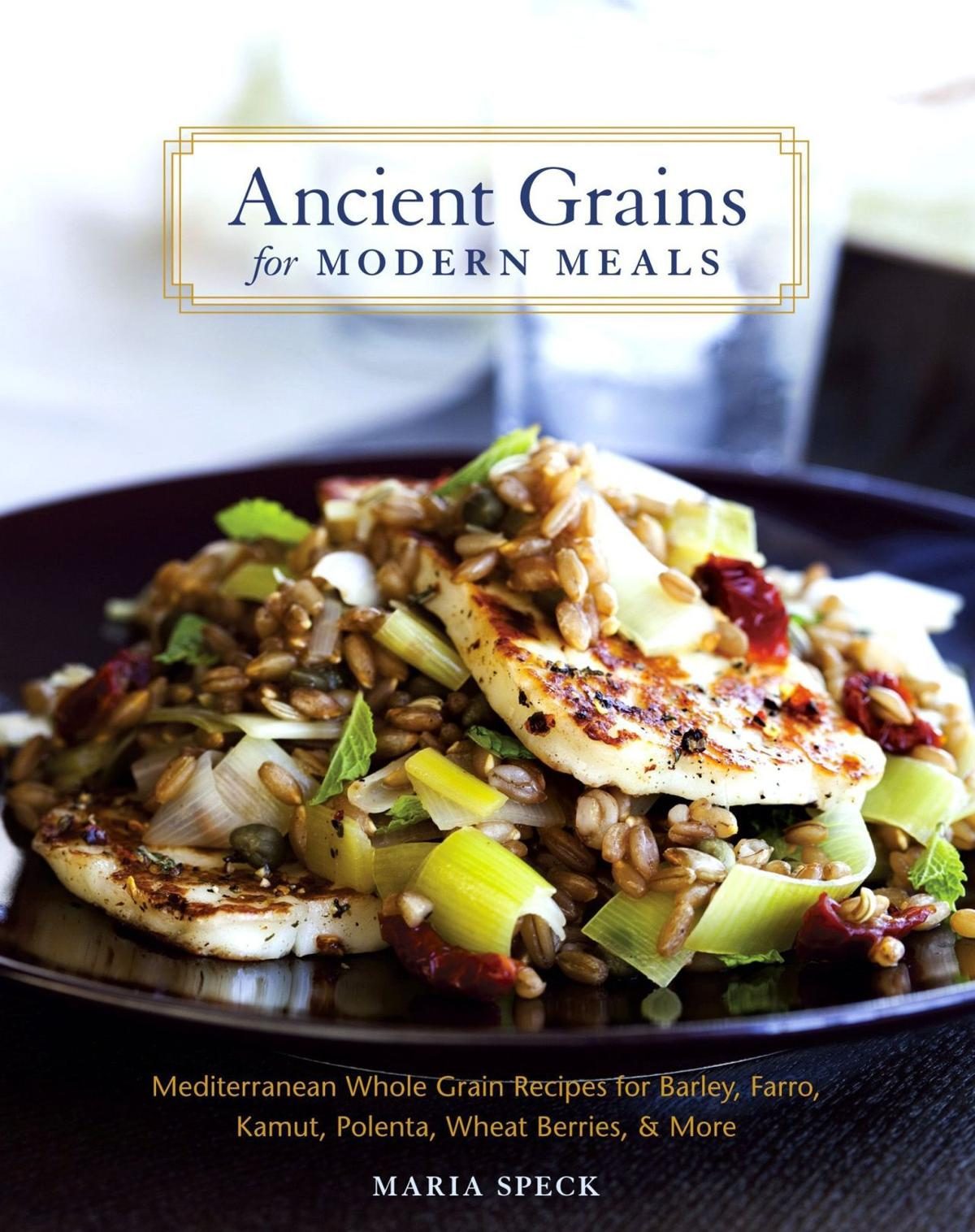 Spring dishes full of grains, chicken