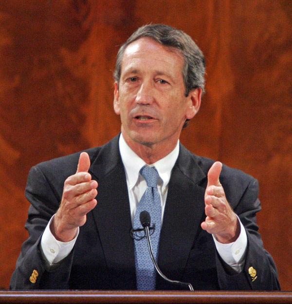 Former Gov. Mark Sanford unhappy about DNR change