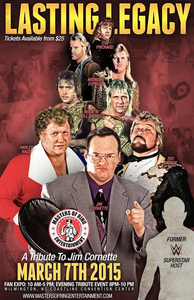 Jim Cornette to be honored at Wilmington event