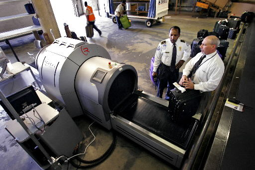 Baggage scanners to make trip through airport easier