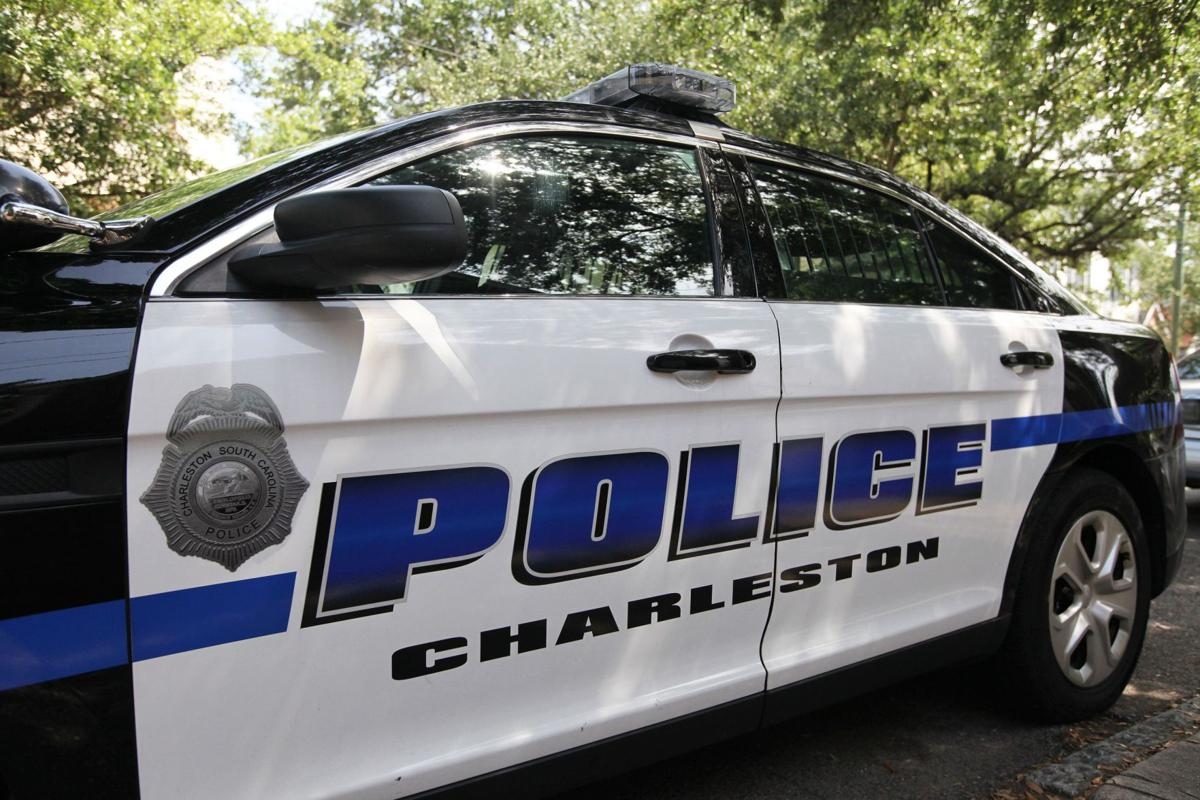 Driver charged with DUI after Charleston police car sideswiped