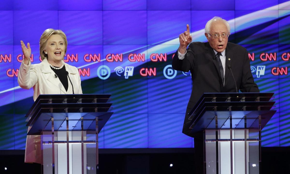1131< AP-US-DEM-2016-Debate,947<\n>Bitterly feuding, Clinton, Sanders clash in NY debate<\n>AP Photo NYPM109, NYPM119, NYPM115, NYPM116, NYFF104