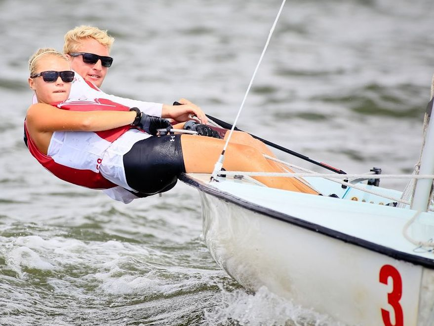 C of C sailing focuses on sport-specific workouts