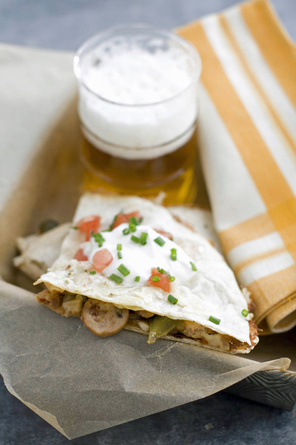 Quesadillas can be easy weeknight meal