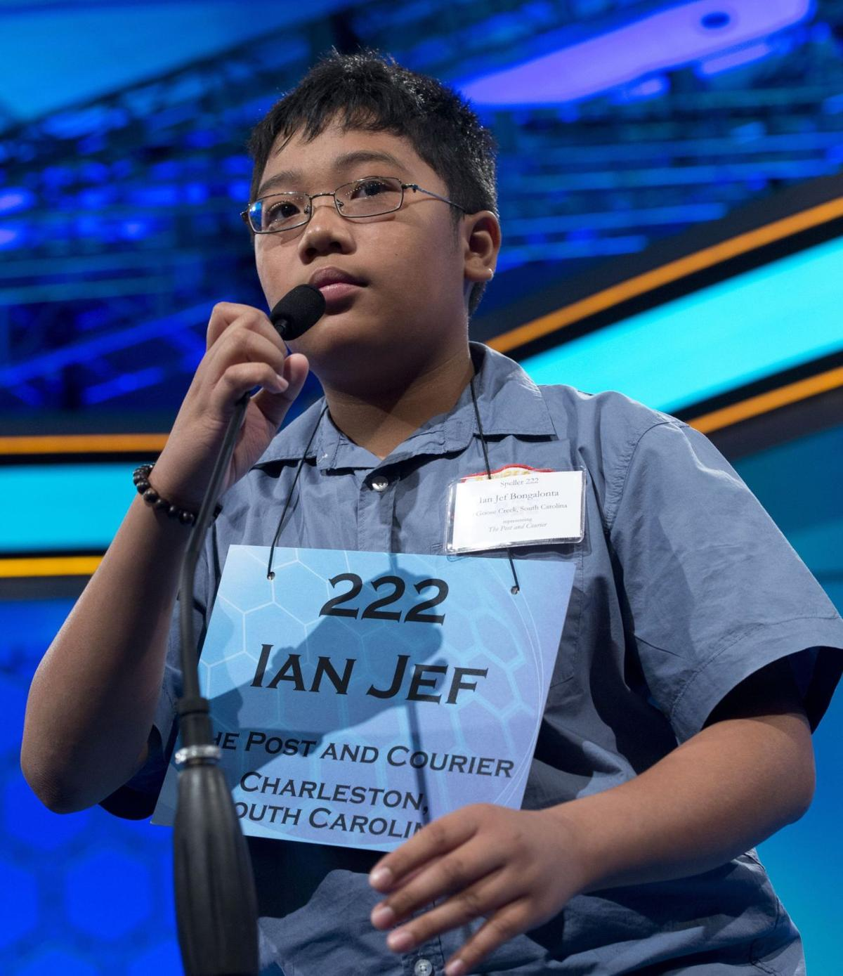 Speller eliminated at national bee