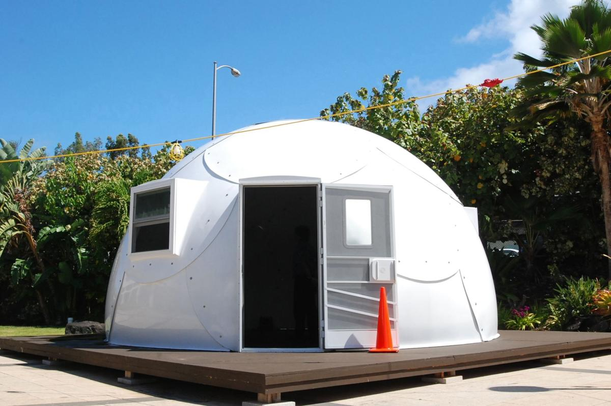Hawaii church deploying igloos to house homeless