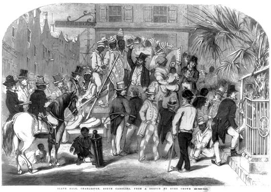 Slavery in Charleston: A chronicle of human bondage in the Holy City (copy)