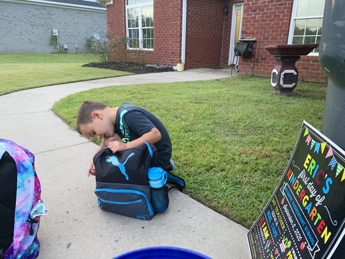 Eric Ballard Jr. backpack