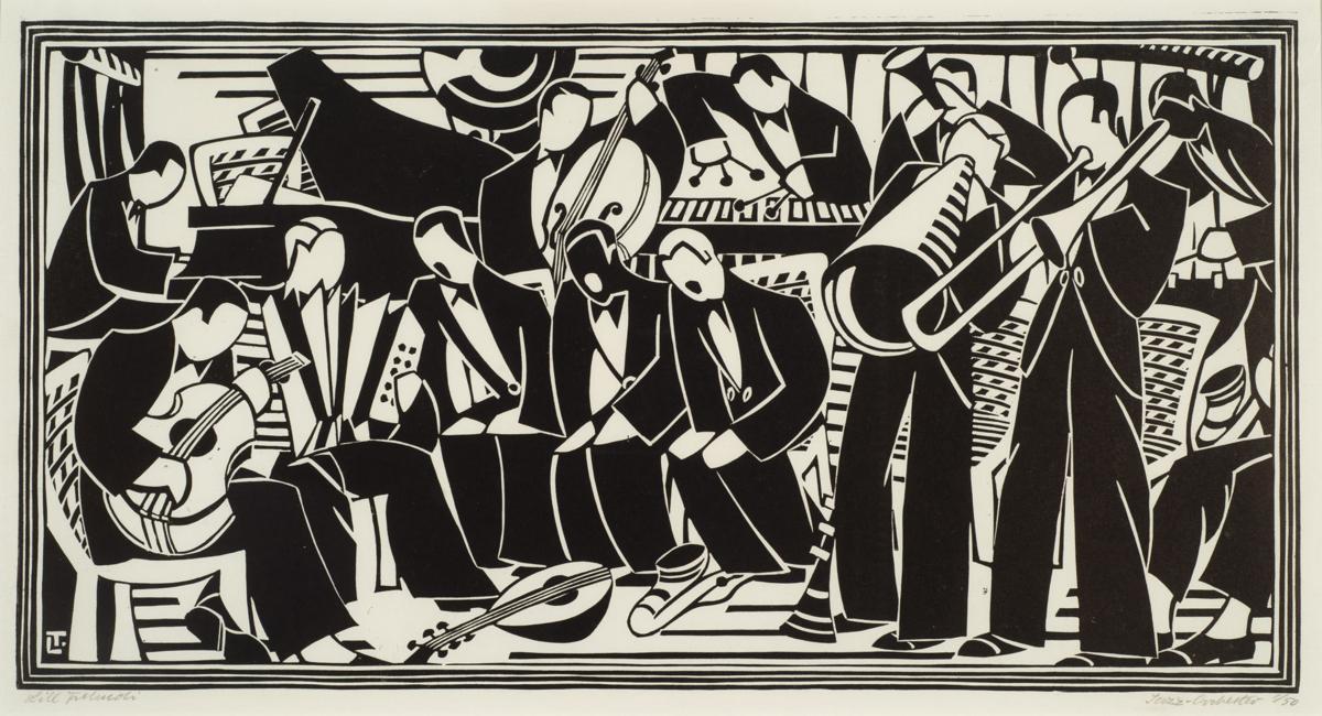 """Jazz Orchestra"" by Lill Tshudi"